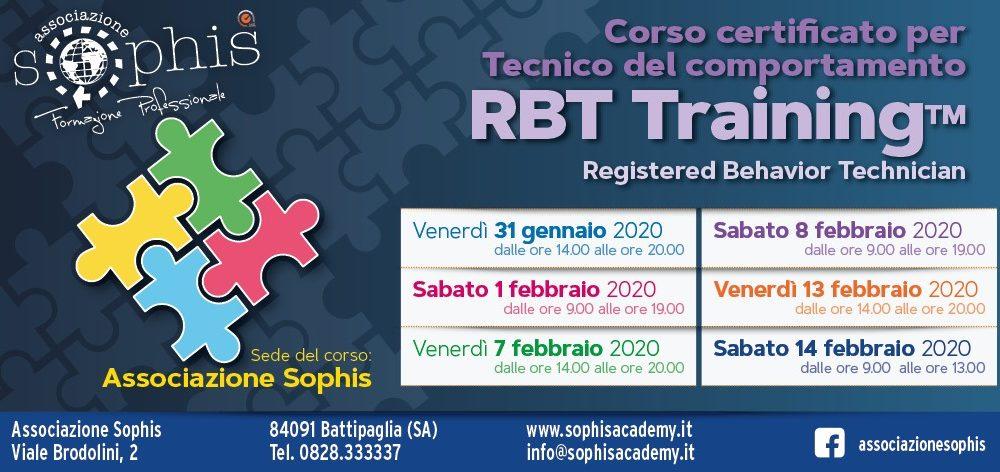 Tecnico Del Comportamento- RBT Training- Battipaglia (SA)