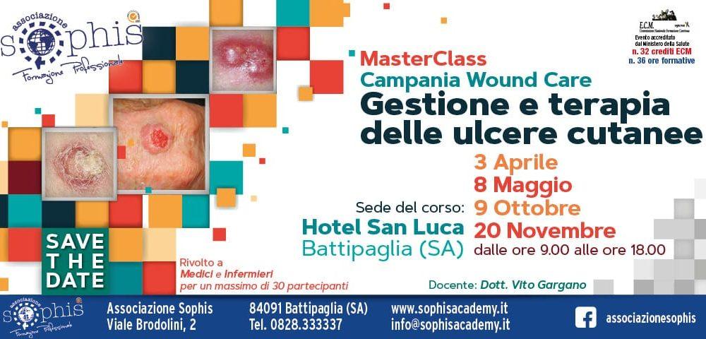 MasterClass Wound Care: Gestione Delle Ulcere Cutanee