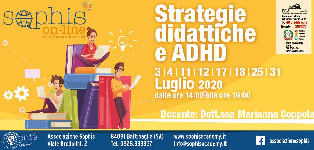Strategie Didattiche E ADHD – On Line