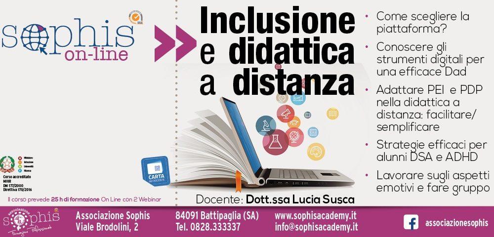 Inclusione E Didattica A Distanza
