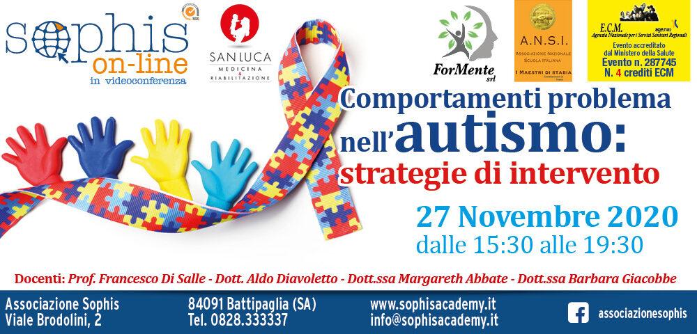 Comportamenti Problema Nell'autismo: Strategie Di Intervento