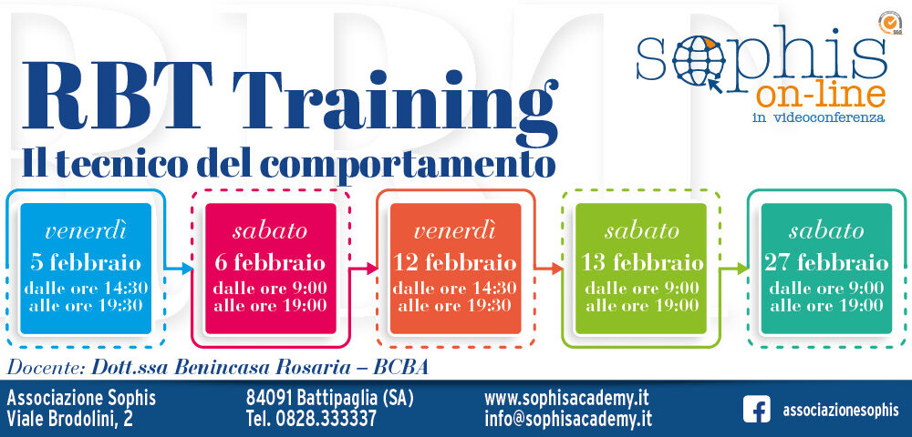 Corso RBT Training On Line