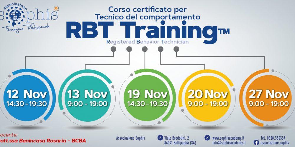 Corso RBT Training On Line